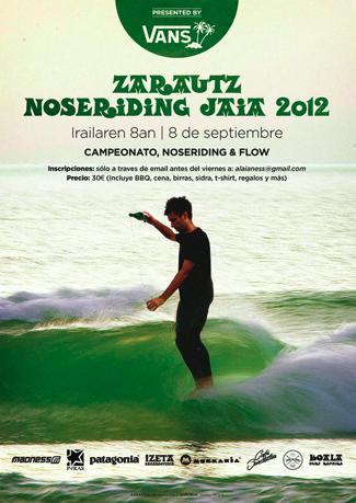 zarautz noseriding classic 2012